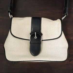 Nine West Basketweave Shoulder Bag